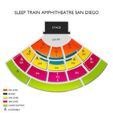 18 Judicious Sleep Train Amphitheatre Seating