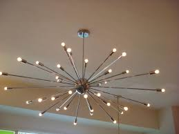 extra large modern chandeliers in popular extra large chrome atomic sputnik starburst light fixture chandelier