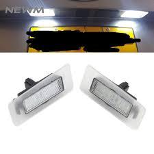 Hyundai Elantra License Plate Light Replacement Us 14 39 10 Off Ce Emark 6000k Led License Plate Light For Hyundai Elantra 11 13 I30 12 14 For Kia Cadenza Rio Cerato Auto Replacement Rear Car In