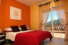 bedroom colors decor. Bedroom Colors Brown Yellow And Ideas Decor Enchanting Orange Room