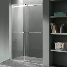 shower doors frameless sliding