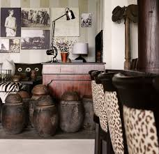 modern african furniture. Interior:Modern African Theme Living Room With Animal Wallpaper Idea Country Decoration Chic Modern Furniture