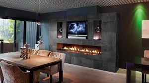 luxury gas fireplace