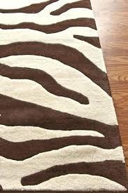 brown and cream brown zebra rug cute area rugs