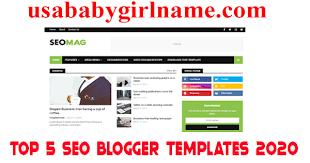 Blogger Templates 2020 Top 5 Best Blogger Templates Seo Friendly 2020