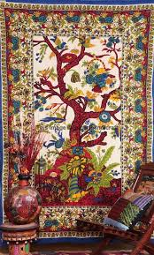 indian tapestry tree of life tapestry