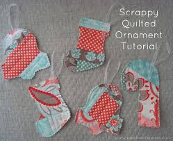 Quilt as you go Scrappy Ornaments Tutorial -   Ornament tutorial ... & Quilt as you go Scrappy Ornaments Tutorial - Adamdwight.com