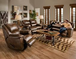 Leather Sofa Sets For Living Room Furniture Comfortable Sectional With Recliner For Living Sofas For