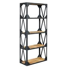 metal and wood bookcase leaning bookshelf with ladder ikea