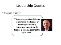 Quotes On Leadership Magnificent 48 Leadership And Management Objectives Explain The Difference