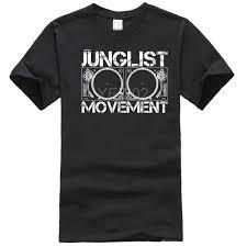 <b>JUNGLIST MOVEMENT</b> T SHIRT DNB DRUM AND BASS RAVE T ...
