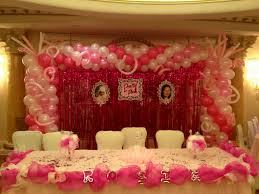 decoration of birthday party at home