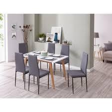 raze upholstered dining chair set of 6