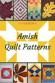 Amish Quilt Patterns Best 48 Amish Quilt Patterns FaveQuilts