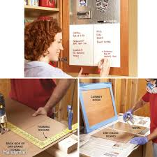 Kitchen Cabinet Door Organizer 18 Inspiring Inside Cabinet Door Storage Ideas The Family Handyman
