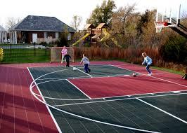 Residential Tennis Sportprosusa Picture On Fabulous Backyard Backyard Tennis Court Cost
