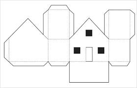 Printable House Template For Kids Orientalmain Club
