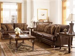 Living Room Ashley Room Furniture Modrox In Incredible Leather Set Clearance Design