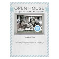 Open House Invite Samples Real Estate Open House Blue Invitations Cards On Pingg Com
