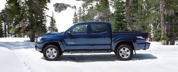 4x4 Double Cab shown in Blue Ribbon Metallic with available TRD ...