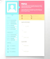 Colorful Resume Templates Professional Free Colorful Resume Templates Microsoft Word Design 12