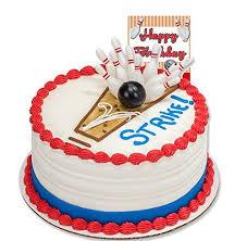 Bowling Pin Cake Decorations