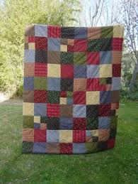 This is Donna's Flannel quilt and it is made up from all her ... & Flannel Quilt - Reminds me of my childhood! My Mom made these. Adamdwight.com