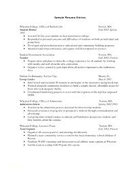 Resume For Internships Template Resume Template For A College Student Sample Format Students And