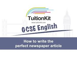 Writing A Newspaper Article How To Write The Perfect Newspaper Article