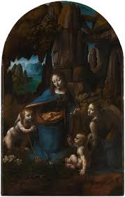 usually the first version of the painting was so successful that the artist had received another commission let s look at several well known versions