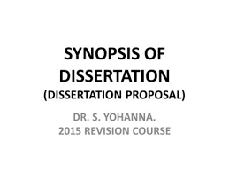 dissertation proposal middot Thesis proposal presentation ppt pps