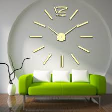 aliexpresscom  buy recommend  quartz diy d wall clock  inch