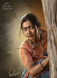 Digital Portrait Painting Portrait Paintings Hyderabad Artist