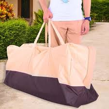 garden patio cushion storage bag