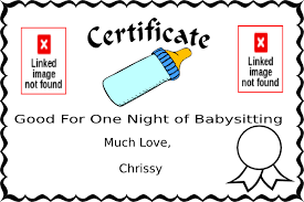 Coupon Clipart Free Babysitting Coupon Clip Art At Clker Com Vector Clip Art Online