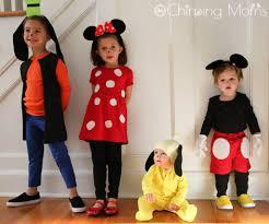 diy mickey minnie pluto goofy costumes