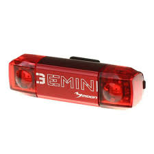 Moon Merak Bar End Rear Cycle Lights Moon Gemini Rear Bike Bicycle Tail Light Laa421