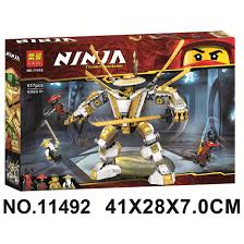 Đồ chơi lắp ráp lego Ninjago legacy season phần 12 Golden Mech robot người  máy tổ sư Spinjitzu ninja lloyd Lari 11492, Giá tháng 11/2020