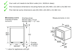 standard microwave size. Standard Microwave Cabinet Dimensions Size Integrated Kitchen .
