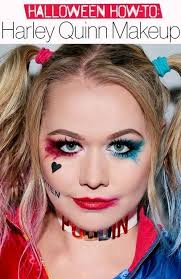 the easy harley quinn makeup tutorial you need to try this 7 steps to getting the most por costume of 2016