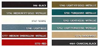 66 Mustang Color Chart 1966 Mustangs 66 Mustangs Info 1966 Ford Mustang Pics