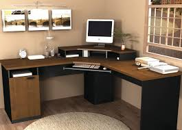 corner desk office. Image Of: Solid Wood Corner Desk Computer Office