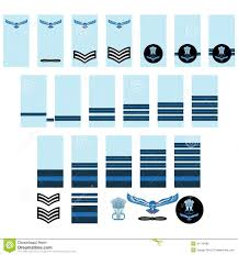 Air Force Insignia Chart Indian Air Force Insignia Stock Vector Illustration Of