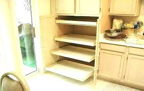 corner cabinet pull out shelf corner kitchen