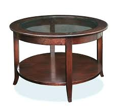 black wood coffee table with glass top large round side table wooden glass coffee table circular