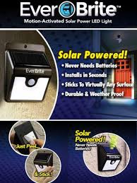 Everbright Solar Light Amazon Everbrite Motion Activated Solar Powered Led Light Amazon