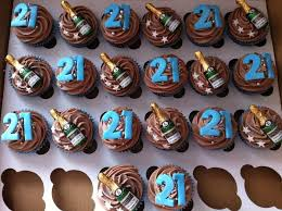 21st Birthday Cupcakes For Guys Google Search Brandons 21st