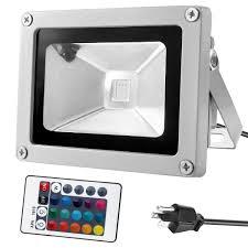 amax lighting 2625. Warmoon 10W Waterproof LED Flood Light With US 3-Plug And Remote, RGB - Amazon.com Amax Lighting 2625