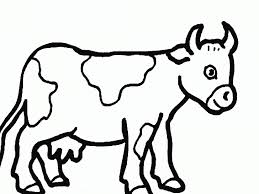 Small Picture Cow Coloring Page Dr Odd Picture Of A Cowboy Animal Free Pages