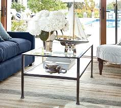 pottery barn tanner pottery barn tanner rectangular coffee table bronze finish pottery barn tanner coffee table